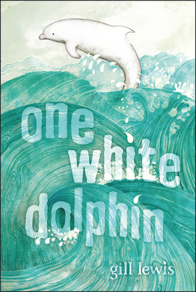 one-white-dophin